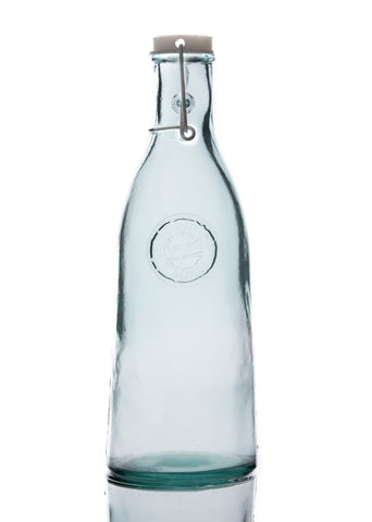 Authentic Recycled Glass Bottle