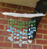 Upcycled Glass Windchime