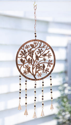 Birds in Tree Windchime