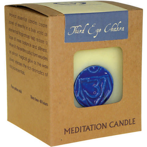 Chakra Meditation Soy Candle (Third Eye)