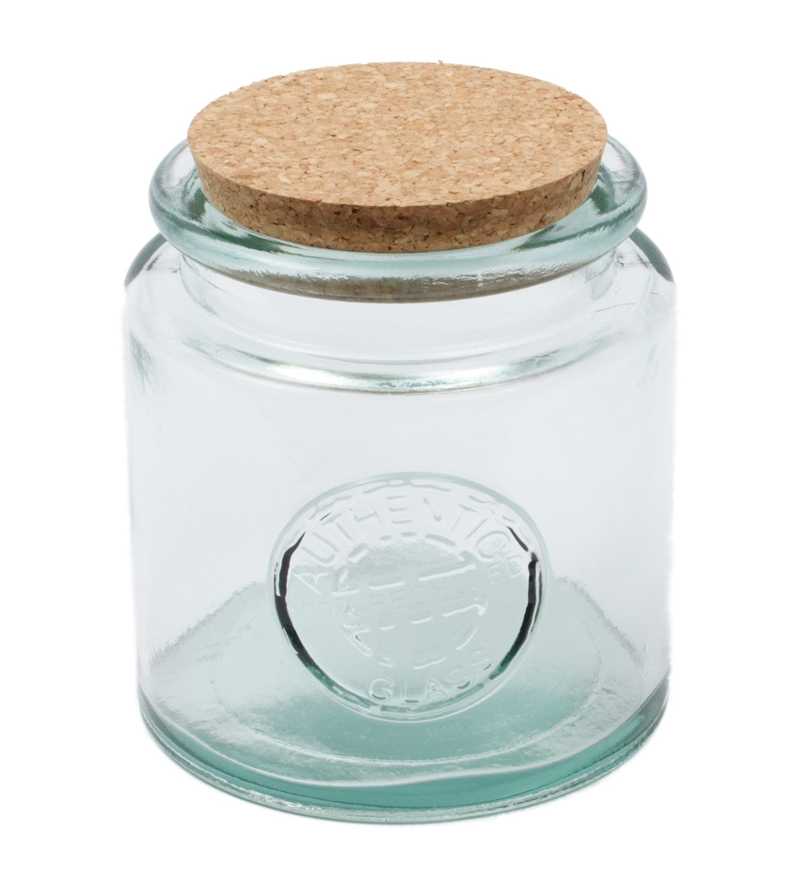 Set Of 3 250ml Storage Jars With Cork Lids Purity