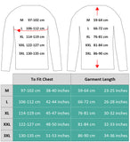 Size Chart for Hoodie