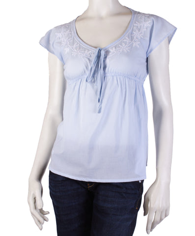 Bibico Cassie Blouse (Pale Blue)