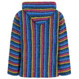 Candy stripe mexican hoodie back