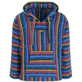 Candy stripe mexican hoodie front