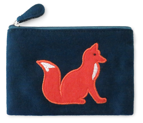 Fox Fair Trade Felt Purse