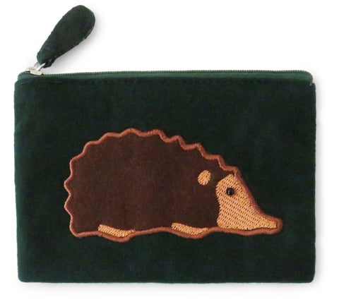 Hedgehog Fair Trade Felt Purse