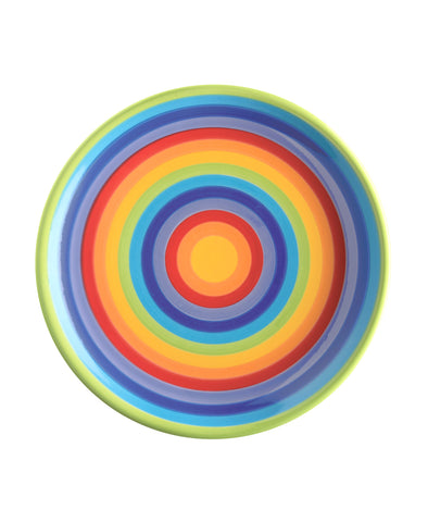 Medium Sized Rainbow Plate