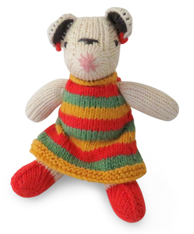 Mouse in Stripe Dress