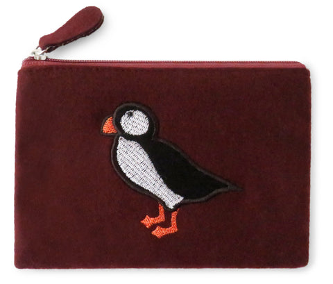 Puffin Fair Trade Felt Purse