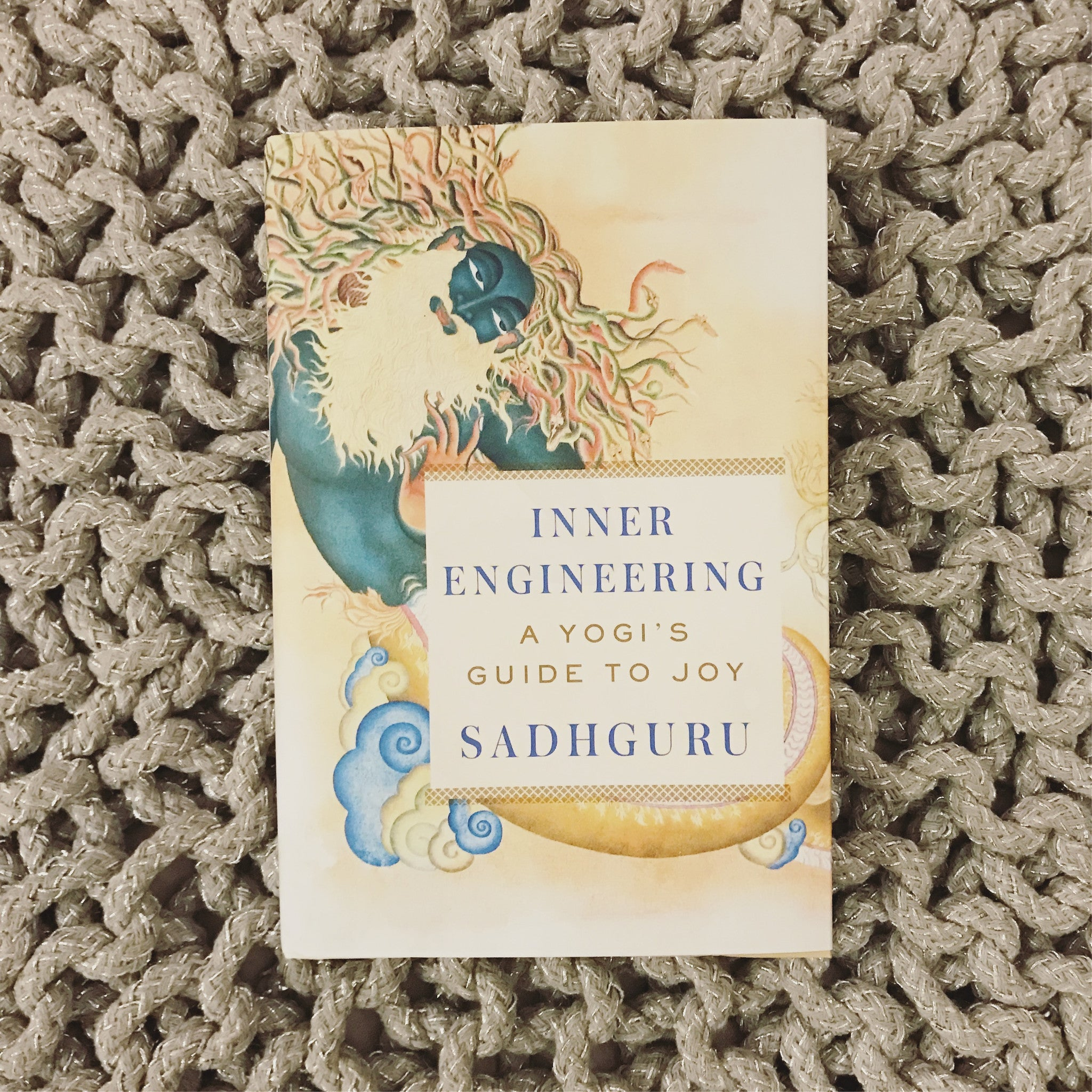 Yogi Reads:  Inner Engineering: A Yogi's Guide to Joy