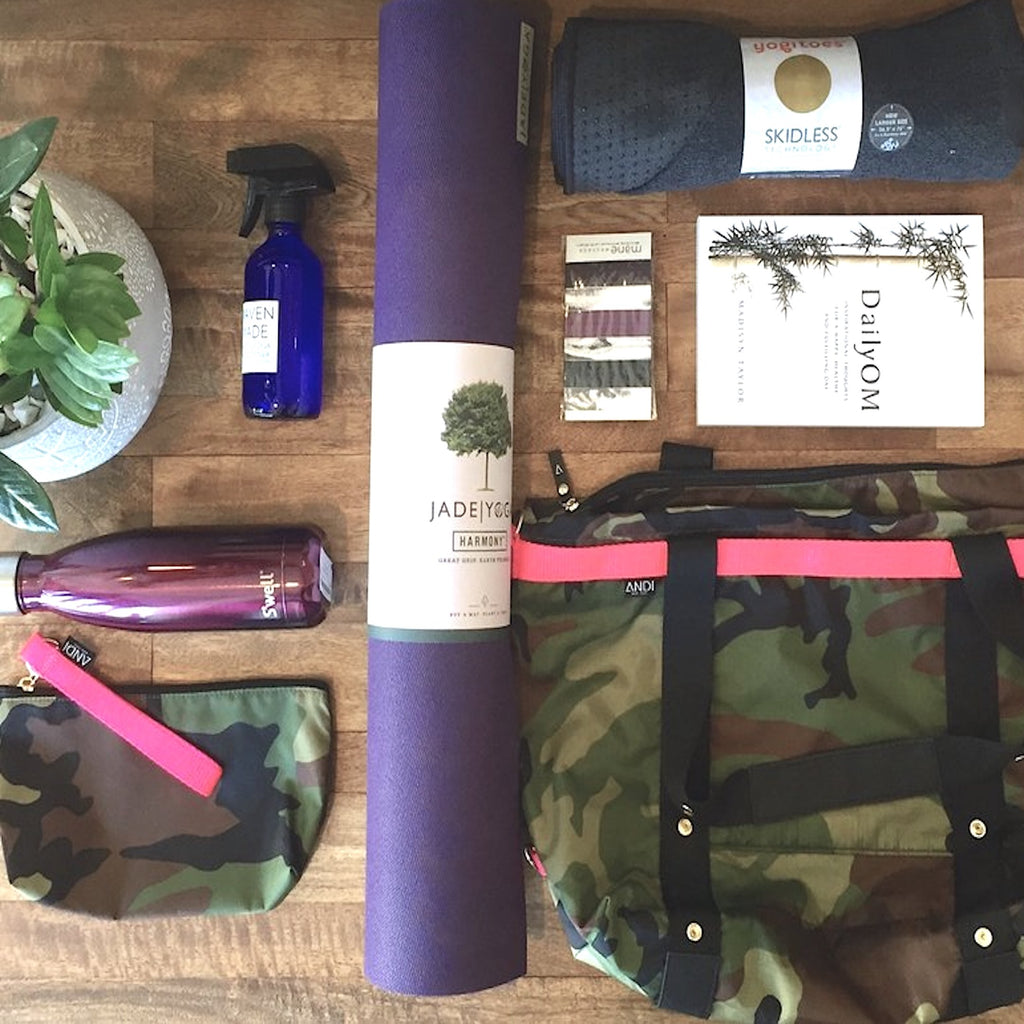 Our Picks: Items to Pack in Your Andi Yoga Bag