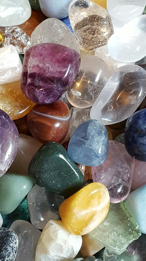 Life Gems- Rules to Live By (bowl of crystals and gemstones)