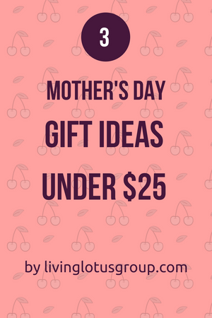 3 Mother's Day Gift Ideas Under $25