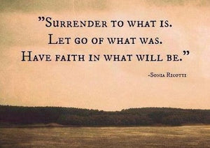 Surrender Quote: Surrender what is