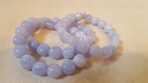 Blue Lace Agate Power Bracelet