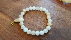 Genuine Yellow Calcite Bracelet