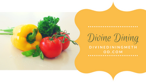 Divine Dining image with colorful food