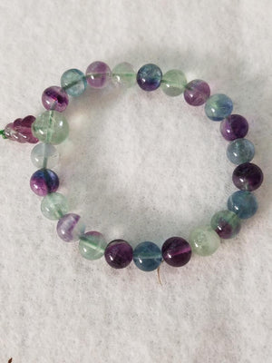 Fluorite Power Bracelet (single)