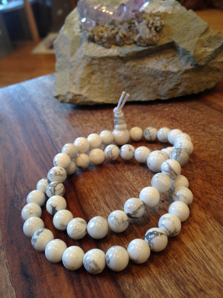 Genuine Howlite Power Bracelet