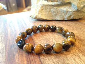 Genuine Tiger Eye Power Bracelet