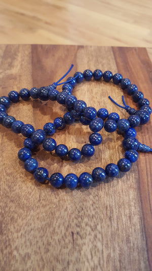 Lapis Power Bracelets - Three