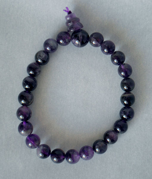 Genuine Amethyst Power Bracelet