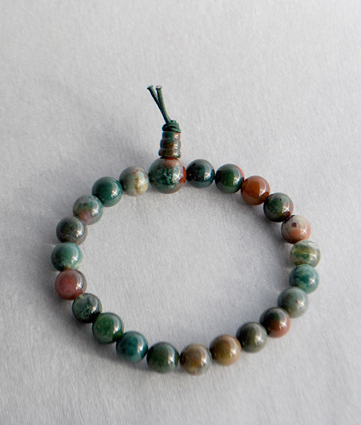 Genuine Bloodstone Bracelet