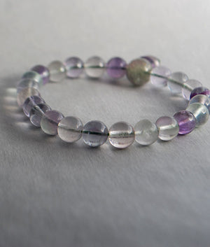 Genuine Fluorite Power Bracelet