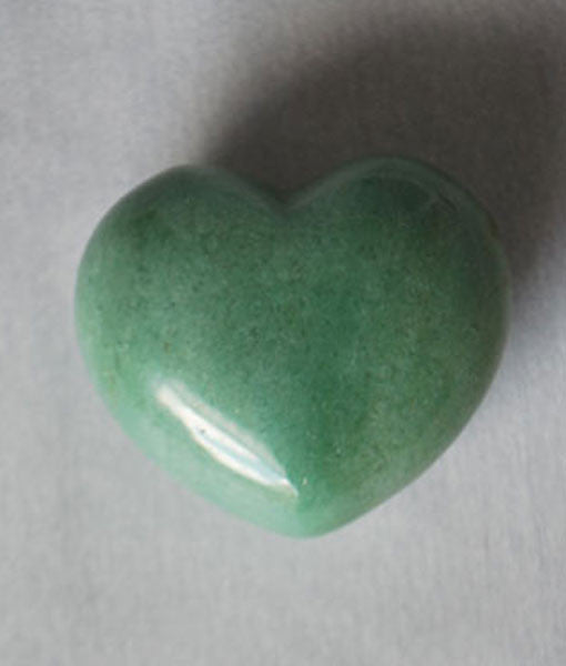 Genuine Aventurine Heart Stone