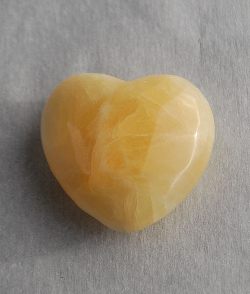 Genuine Calcite Heart