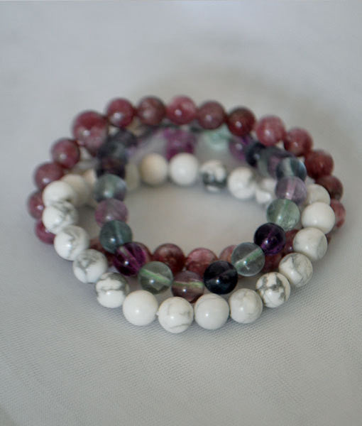 Power of Three Bracelet Set: Chill and Be Still