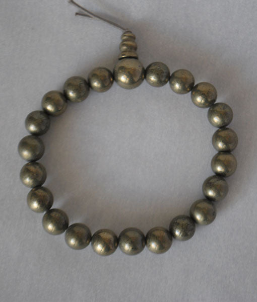 Genuine Pyrite Power Bracelet