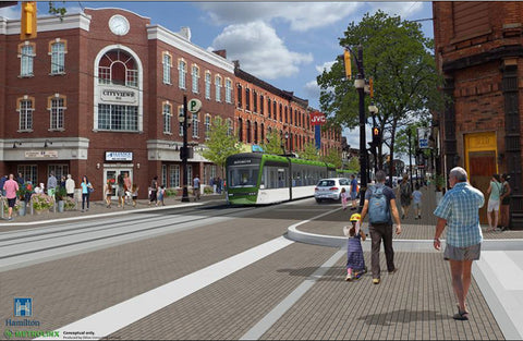 say yes to LRT, LRT Hamilton