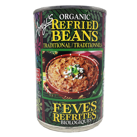 Organic Traditional Refried Beans - Bikeables