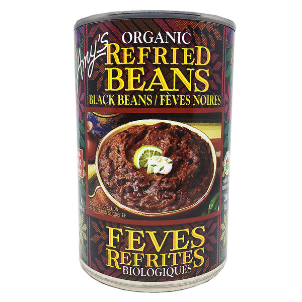 Organic Refried Black Beans - Bikeables