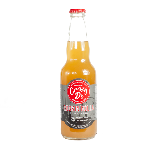 Crazy D's Soda- Rockin' Rolla Cherry Cola