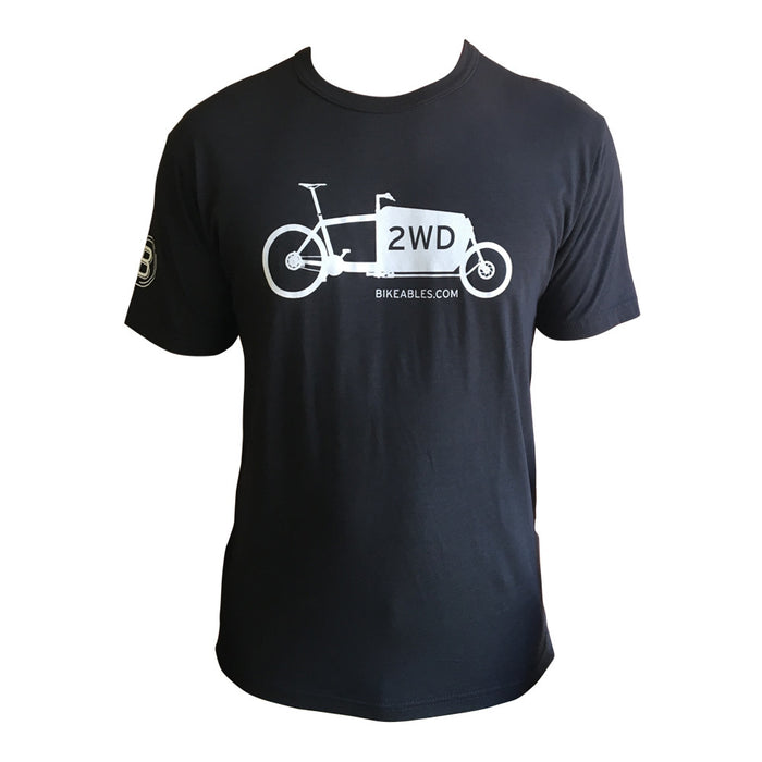 "Bikeables ""2WD"" Short Sleeve T-Shirt (Men's)"