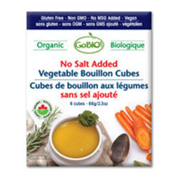 Organic Vegetable Bouillon Cubes (No Salt) - Bikeables