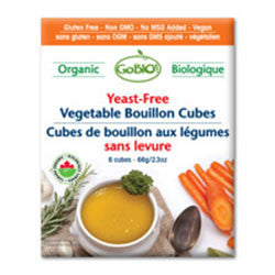 Organic Yeast-Free Vegetable Bouillon Cubes - Bikeables