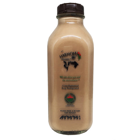 Organic Chocolate Milk ($3.99 + $2.00 refundable deposit) - Bikeables