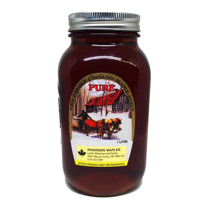 Dark Maple Syrup 1L - Bikeables