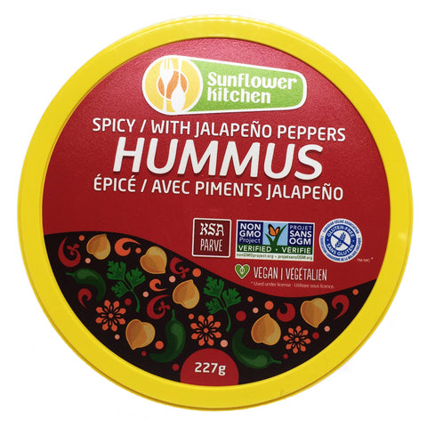 Spicy Hummus w/Jalapenos - Bikeables