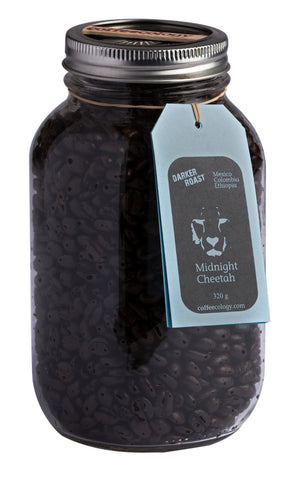 Midnight Cheetah (Dark Roast) $13.89 + $1 Refundable Deposit - Bikeables