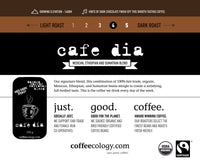 Cafe Dia (Med/Dark Roast) $13.89 + $1 Refundable Deposit - Bikeables