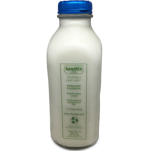 Partly Skimmed Milk 2% ($2.99 + $2.00 Refundable Jar Deposit)