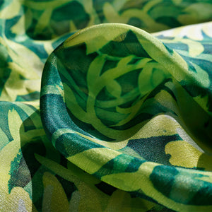 A Walled Garden scarf - Secret Garden collection - Arati Devasher: Painted Silk Accessories - Scarf - 2