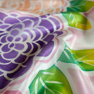 Spring Bloom scarf - Secret Garden collection - Arati Devasher: Painted Silk Accessories - Scarf - 1