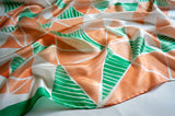 Spring Origami scarf - Origami collection - Arati Devasher: Painted Silk Accessories - Scarf - 2