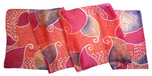Load image into Gallery viewer, Peachy Paisleys scarf - Arati Devasher: Painted Silk Accessories - Scarf - 2